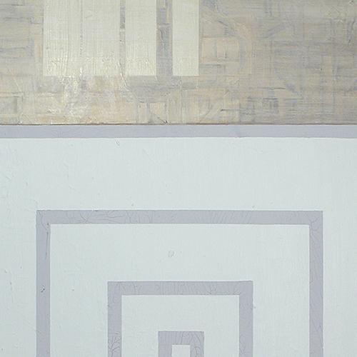 Kharis Kennedy, Yamabushi panel painting, detail