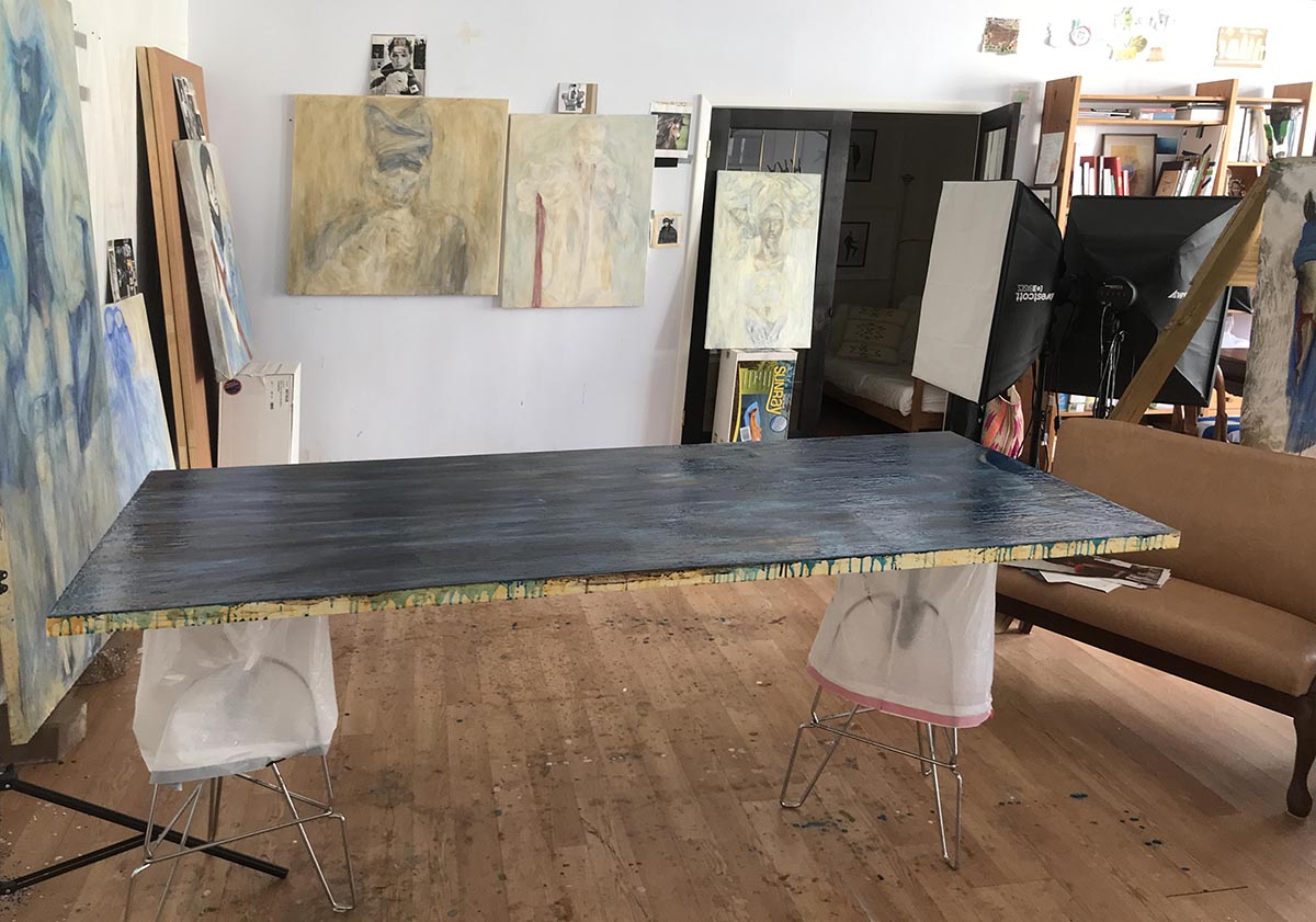 Kharis Kennedy Studio Interior 2018